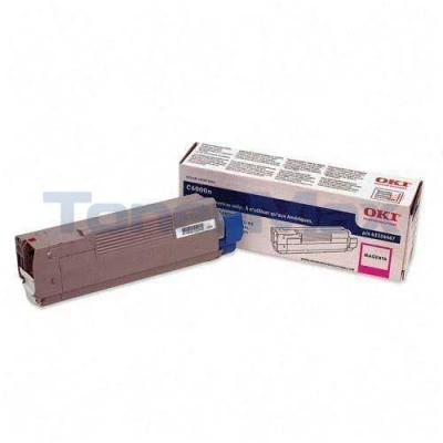 OKIDATA C6000 TONER MAGENTA